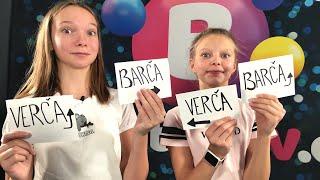 GYMDUO Barča&Verča | Kdo by spíš propadl z výtvarky?