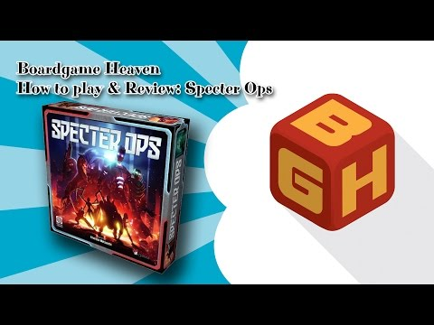Boardgame Heaven How To Play & Review: Specter Ops