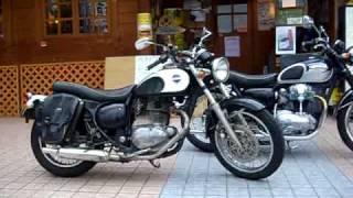 美人 美女 Kawasaki ESTRELLA 250  Custom Lowdown Motorcycle Race エストレア