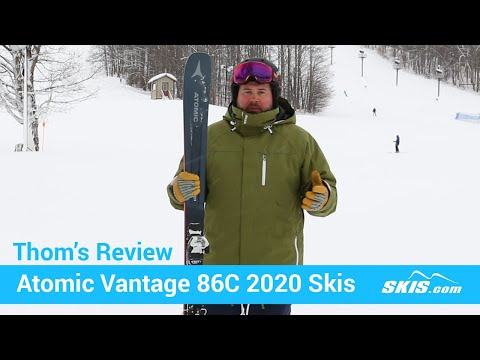 Video: Atomic Vantage 86 C Skis 2020 20 50