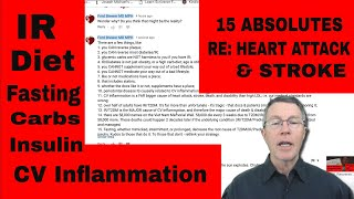 15 RULES to Prevent HEART ATTACK & STROKE RISK - FORD BREWER MD MPH
