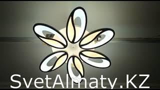 LED люстра с пультом на 6 ламп от компании Владислав Хорешко - видео