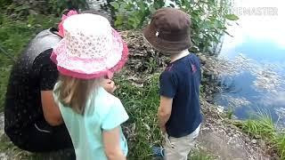 Все вместе семьей на рыбалку