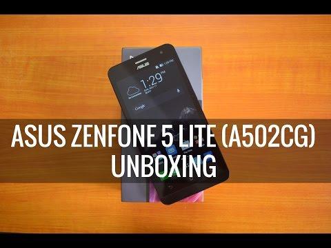 ASUS Zenfone 5 Lite (A502CG) Unboxing