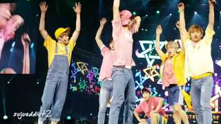 [FANCAM] 160903 MBC Show Champion in Manila Astro - Puss in Boots (장화 신은 고양이) + Polaris (북극성)