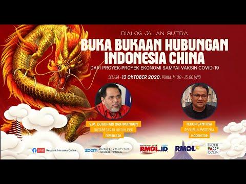 DIALOG JALAN SUTERA - Buka Bukaan Hubungan Indonesia China