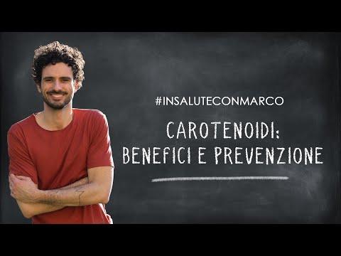 Carotenoidi: benefici e prevenzione