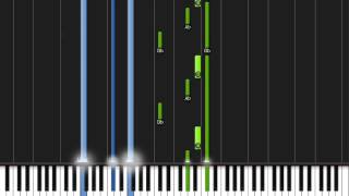 Beethoven - Moonlight Sonata (With Midi!!)