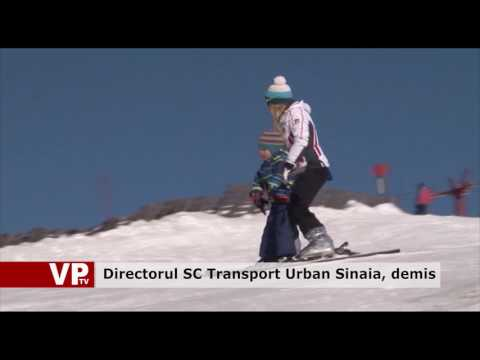 Directorul SC Transport Urban Sinaia, demis