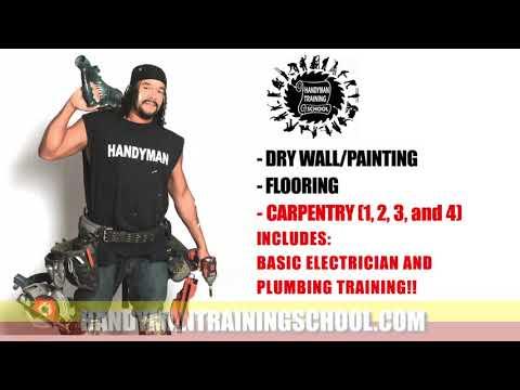 Handyman Training Courses Cheap - YouTube