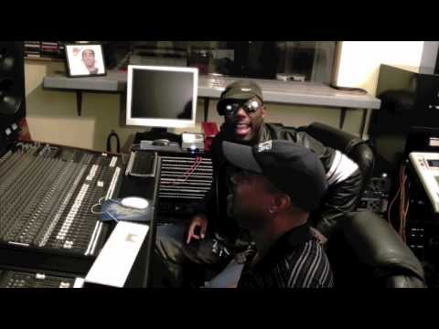 Drew Gibson live in the studio with producer C.C. Thomas Jr.mov