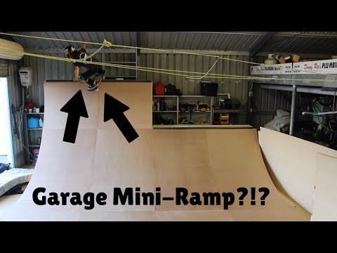Garage Miniramp Session