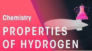 CH04-CHEMISTRYOF HYDROGEN & OXYGEN-PART02-PROPERTIES OF HYDROGEN