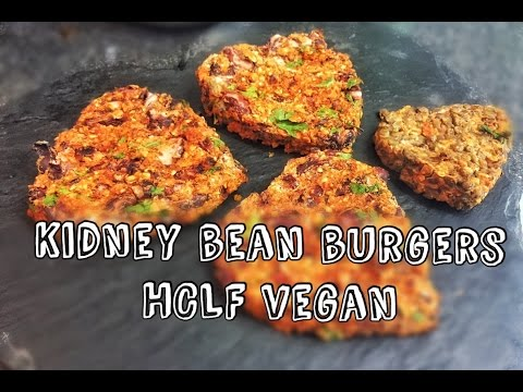 Video Bean Burgers | HCLF VEGAN