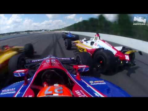 INDYCAR Crash at Pocono in 2019
