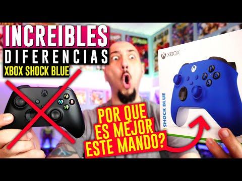 "INCREIBLES DIFERENCIAS 😱 entre estos dos MANDOS!!"" 🔥 XBOX SERIES X Controller Shock Blue unboxing"