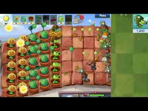 Plants Vs Zombies Pak | Mode Adventure #2|Livestream