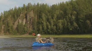 Сплав и рыбалка по рекам эвенкии 2020