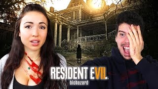 RESIDENT EVIL 7 W/ MY BOYFRIEND!! (Part 1)