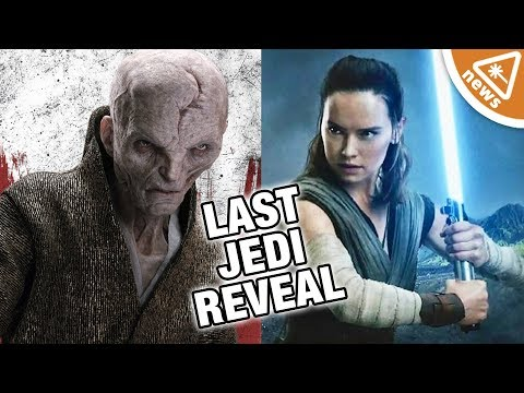 Did The Last Jedi Trailer Reveal Rey's Connection with Snoke? (Nerdist News w/ Jessica Chobot)