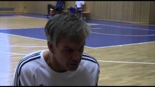 Gordon Herbert vor dem Spiel in Frankfurt