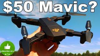 ✔ VISUO XS809HW Drone - $50 Mavic Copy!  Rcmoment.com