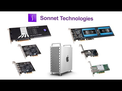 What Can Sonnet Do for Your 2019 Mac Pro?