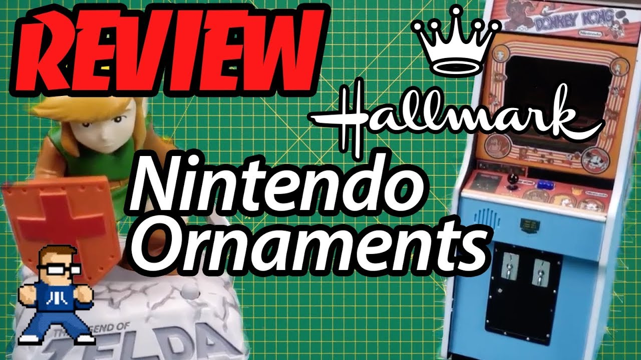 2018 Hallmark Keepsake Nintendo Ornament Review