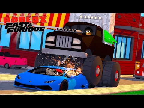 Roblox Fast And The Furious Donut Crushes Ropos New Lamborghini In