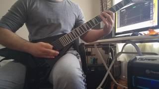 Exodus - Culling The Herd (Full Guitar Cover)