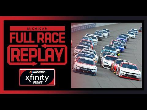 NASCAR ファイヤーキーパーズカジノ400(ミシガン・インターナショナル・スピードウェイ)Xfinityクラスのフルレース動画
