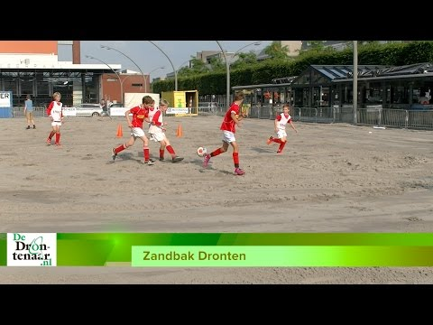 VIDEO | Redeplein ligt klaar voor tweede editie Zandbak Dronten