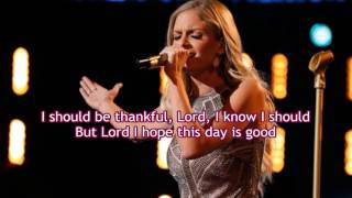 Lauren Duski - Lord, I hope This Day Is Good (The Voice Performance) - Lyrics