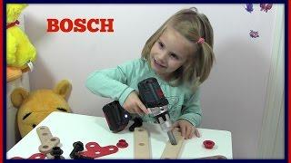BOSCH Akkuschrauber / Bohrmaschine für Kinder ♥ Review & Vorführung