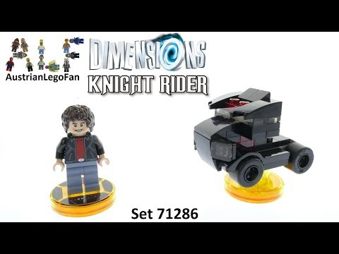 Vidéo LEGO Dimensions 71286 : Pack Héros Knight Rider K2000