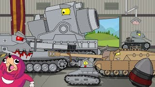 Birth of a monster (ALL EPISODES) -  Cartoons about tanks