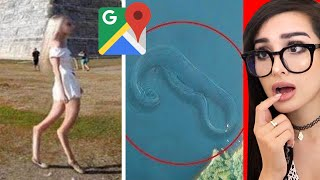 Weird Things Spotted On Google Maps