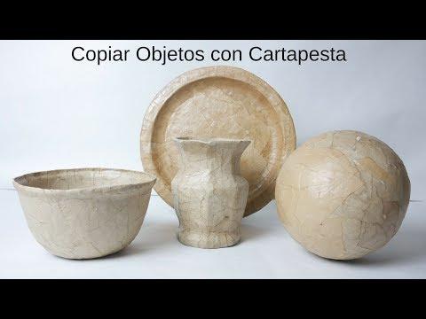 Como Copiar Objetos con Cartapesta