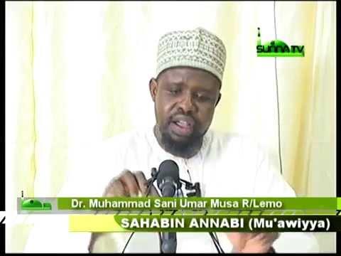 Dr Muh'd Sani Umar Rijiyar Lemo Tarihin Mu'awiya Bn Abu Safyan R A 2