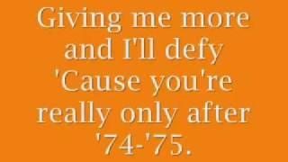 ´74 - ´75 The Connells Lyrics