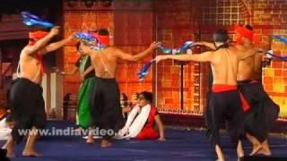 A fusion of Manipuri dances