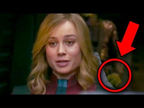 CAPTAIN MARVEL Trailer Breakdown! Super Bowl Avengers Endgame Theory!