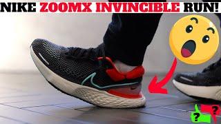 NIKE ZOOMX INVINCIBLE RUN Review: BEST COMFORTABLE NIKE SNEAKER of 2021!?