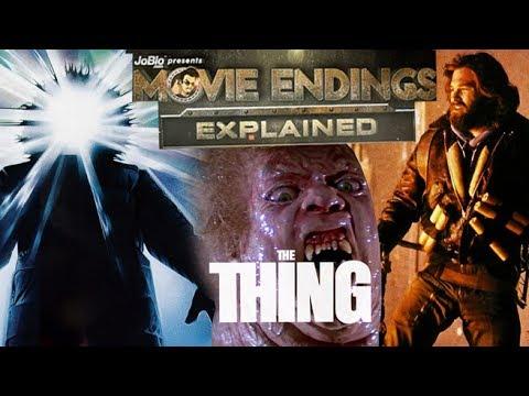 John Carpenter's THE THING (1982) - Movie Endings Explained, Kurt Russell sci-fi horror film