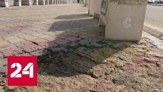 В выставочный комплекс под Дамаском угодил снаряд террористов