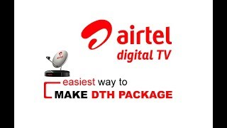how to select airtel dth new plans 2019 malayalam - Kênh