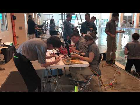 Video: D-B EXCEL heading to international underwater robotics competition
