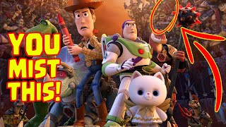 Toy Story That Time Forgot Easter Eggs