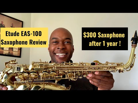 Etude Alto Saxophone | Student Model Saxophone Review after one year