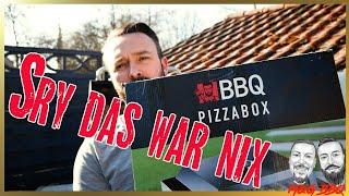 Aldi BBQ Pizzabox im Test - knallharte Meinung - lohnen sich die 39,90 € ? - Pizzacover Aldi - MGBBQ